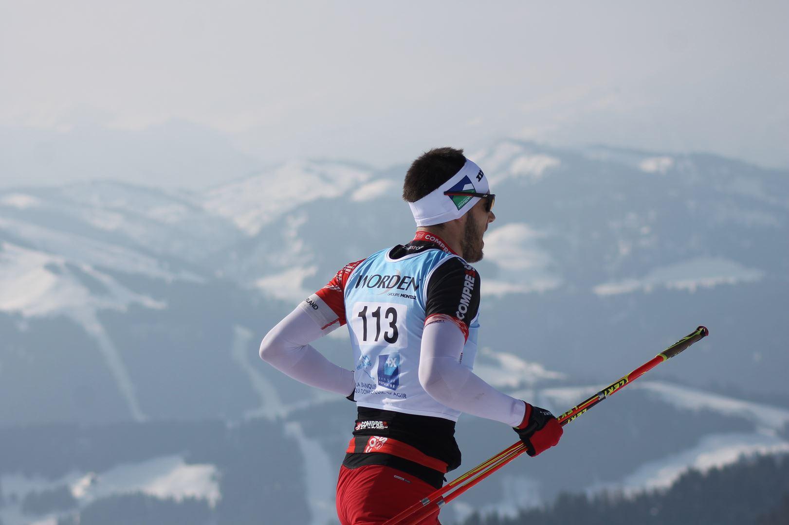 Jérémie Marin 3° Homme du 17km 1 - RESULTATS PHOTOS ET COMPTE RENDU DU 9EME ARAVIS SNOW TRAIL (La Giettaz73) 25-03-2018