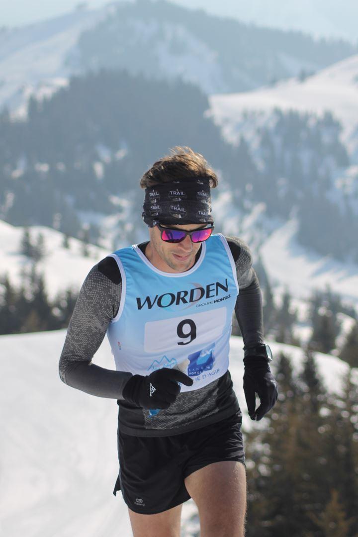 Maxime Jaud 1er Homme du 12km 1 - RESULTATS PHOTOS ET COMPTE RENDU DU 9EME ARAVIS SNOW TRAIL (La Giettaz73) 25-03-2018