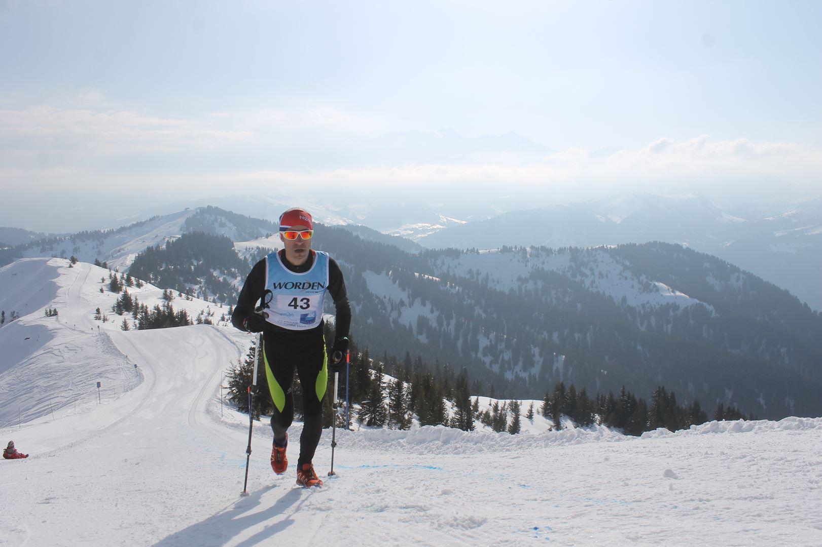 Mickael Krieg 3° Homme du 12km 1 - RESULTATS PHOTOS ET COMPTE RENDU DU 9EME ARAVIS SNOW TRAIL (La Giettaz73) 25-03-2018
