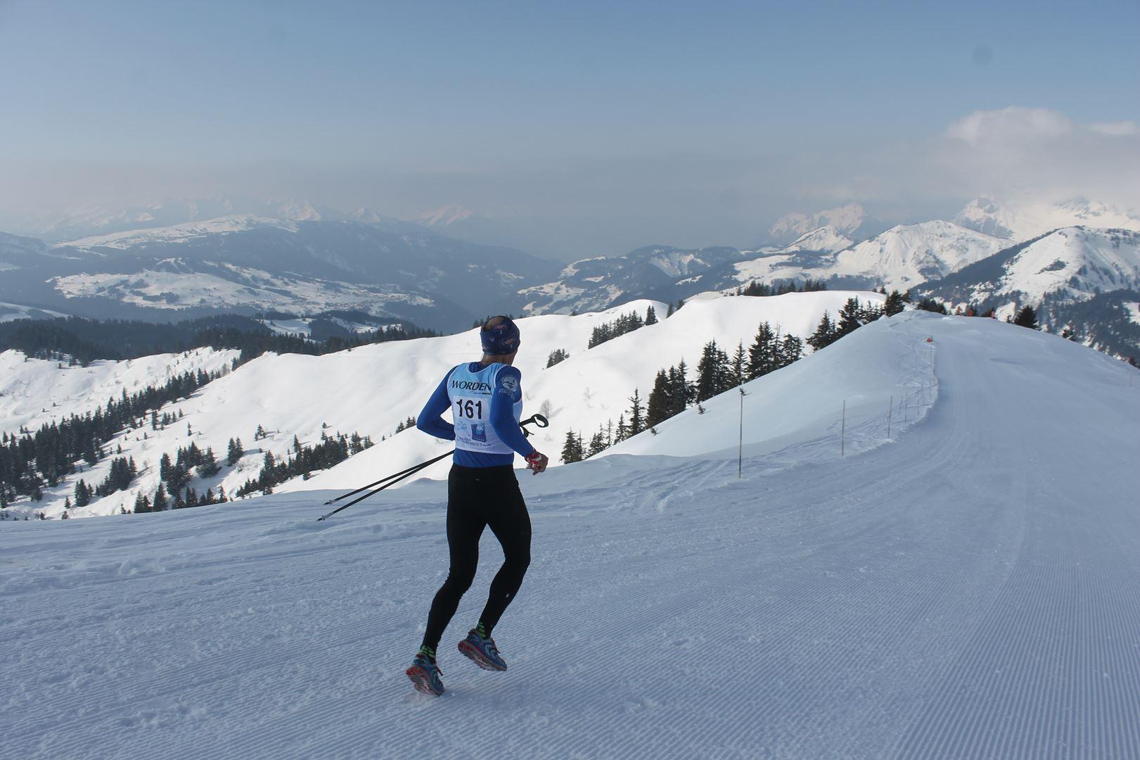 Sébastien Gérard 5° Homme du 17km 1 - RESULTATS PHOTOS ET COMPTE RENDU DU 9EME ARAVIS SNOW TRAIL (La Giettaz73) 25-03-2018