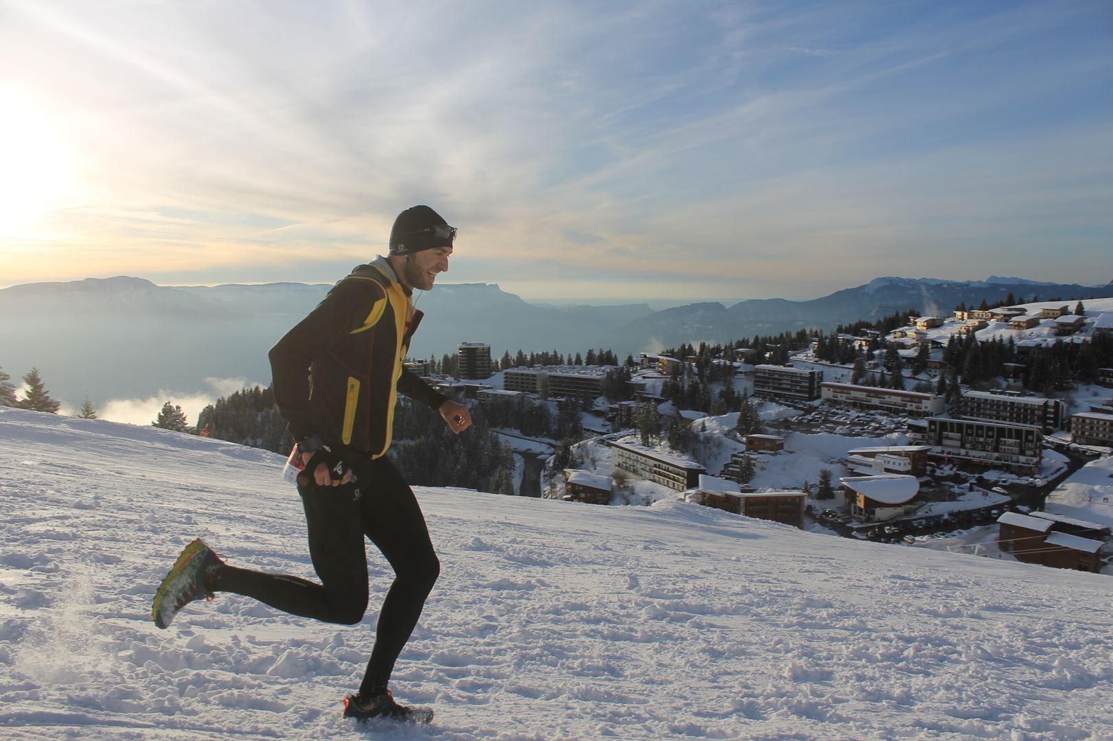 Julien Goyer 3° homme du 16km 3 - WITT: RESULTATS, PHOTOS ET COMPTE RENDU DU TRAIL BLANC DE CHAMROUSSE 01-04-2018