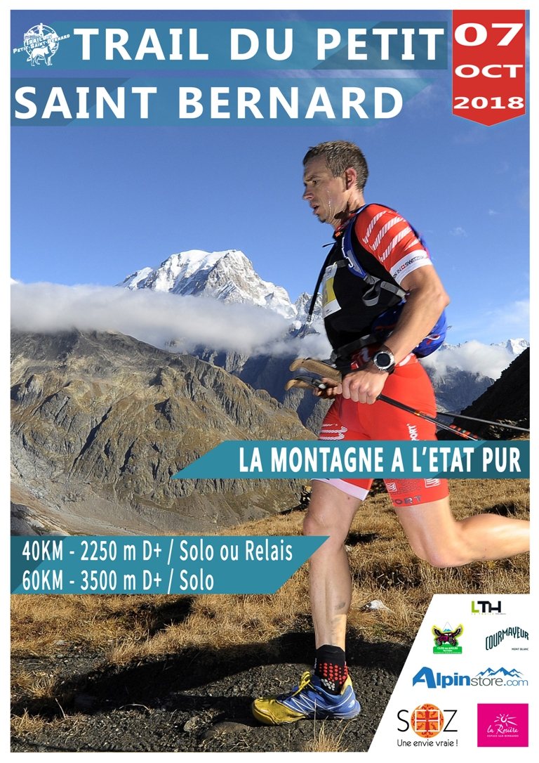 AFFICHE 2018 TPSBeb - BYE-BYE Salomon Skyrunner France Series, BONJOUR Salomon Over the Mountain Running Challenge