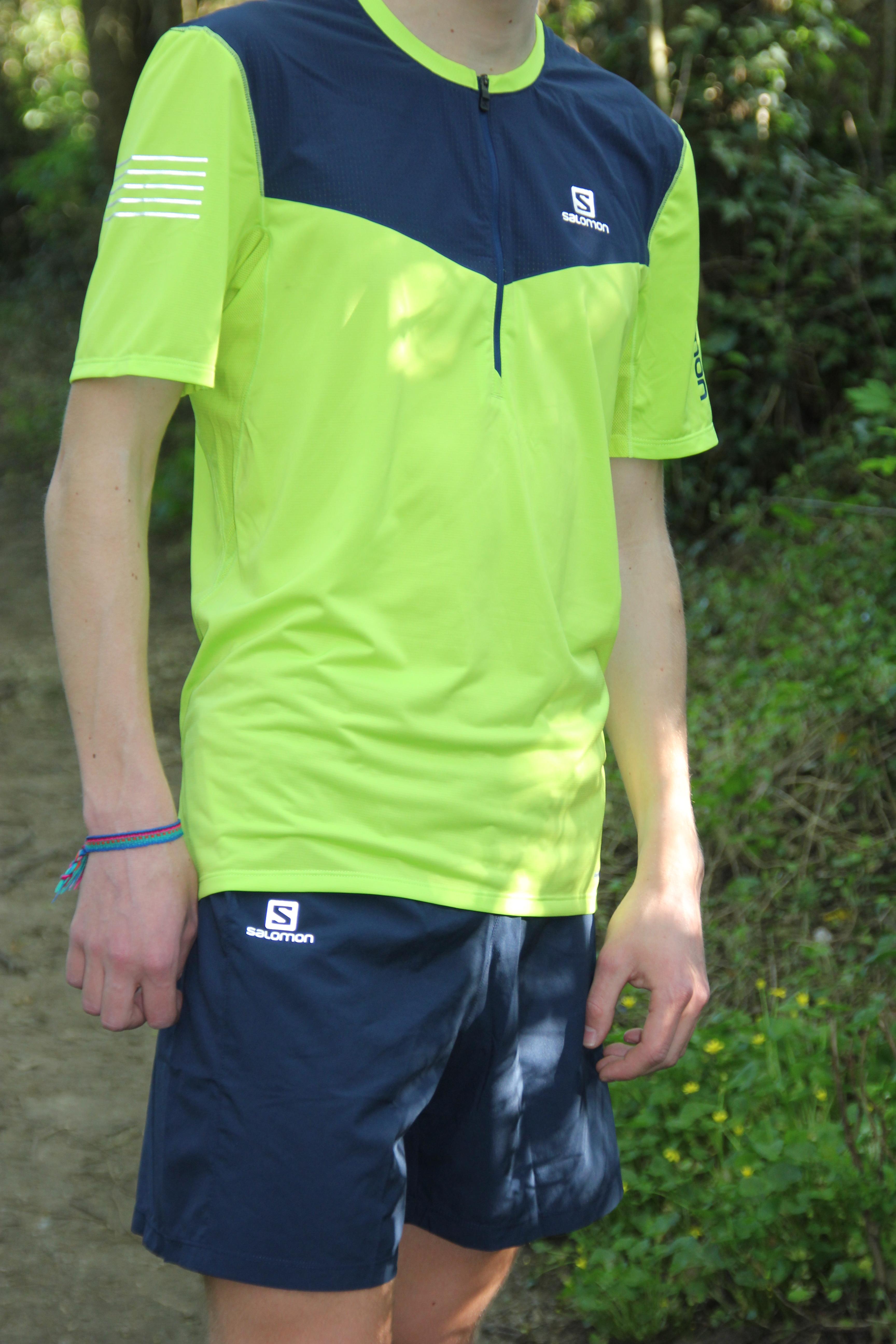 IMG 4719 - SALOMON TRAIL RUNNER SHORT M DRESS BLUE