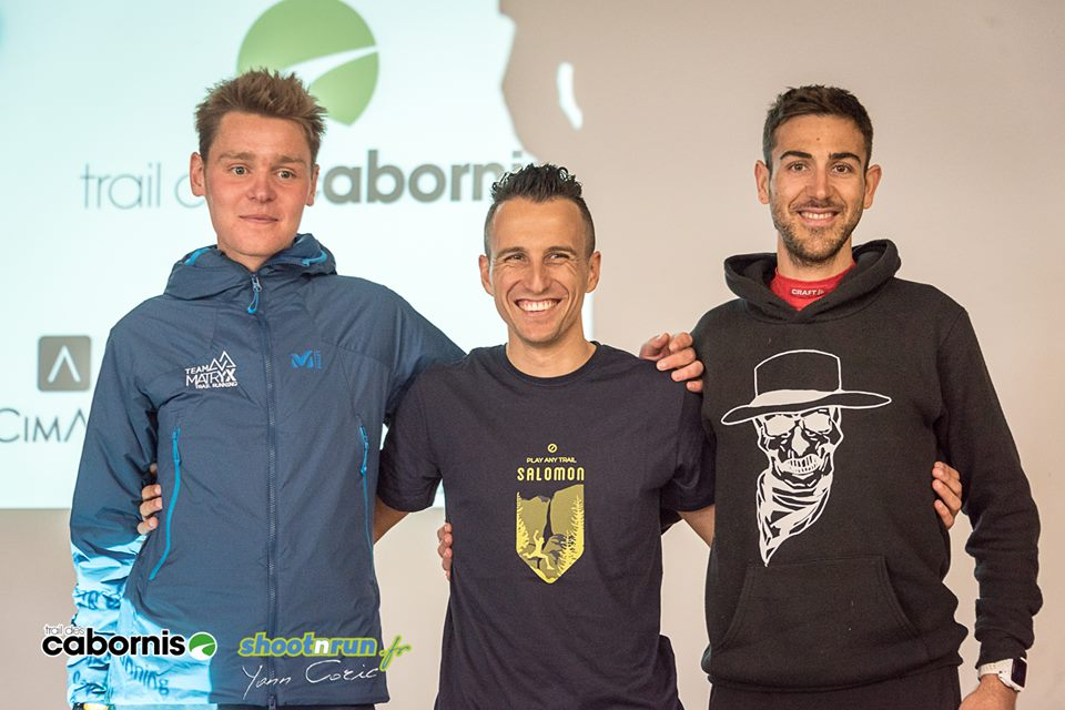 cabornis 1 podium 40km - TRAIL DES CABORNIS: SPEHLER EN PATRON
