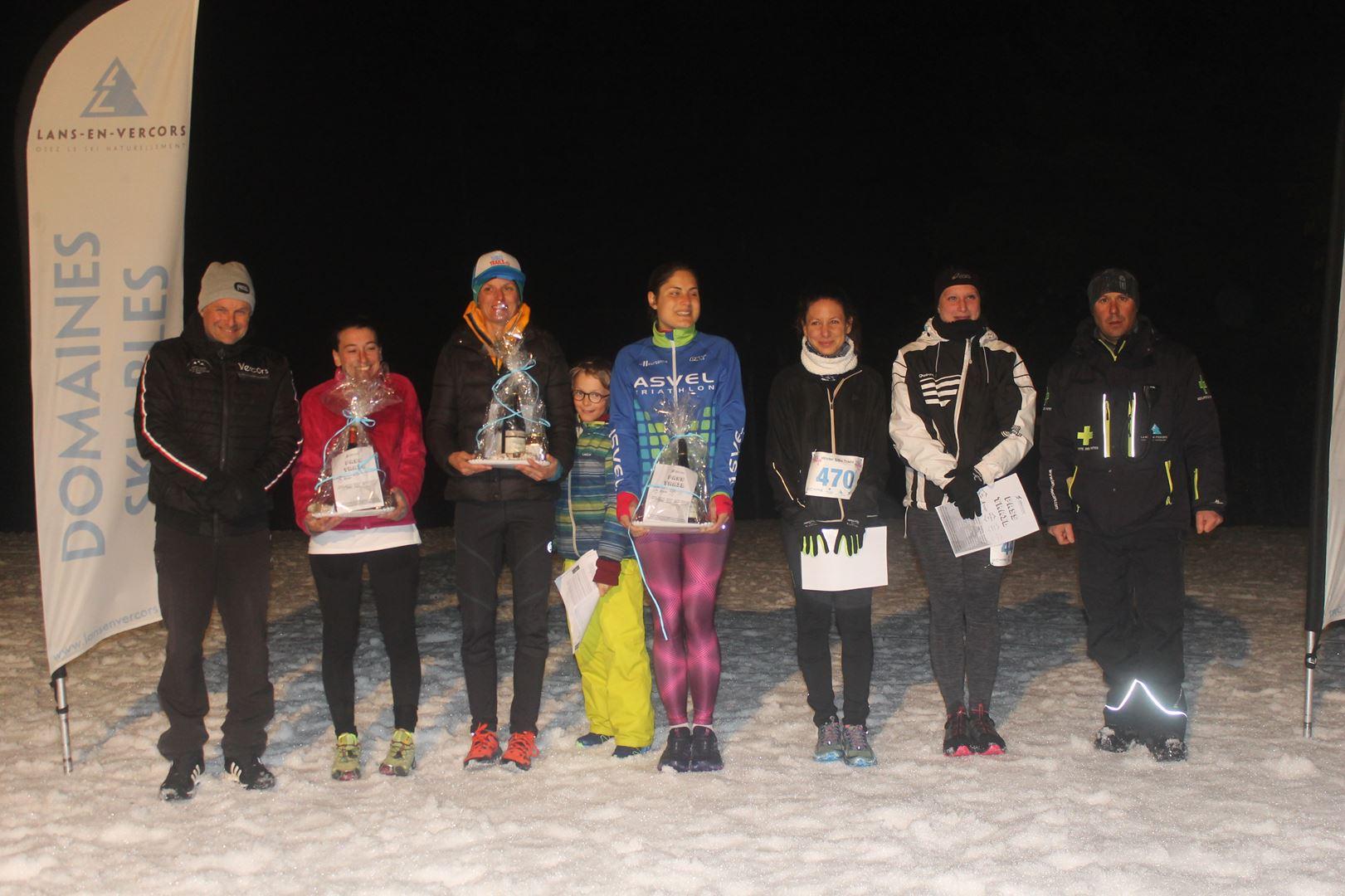 copie 0 podium femmes du 16km - RÉSULTATS DU SIBO TRAIL BLANC LANS EN VERCORS (38) 02/03/2019
