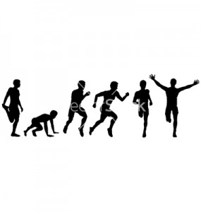 running man for design vector 592397 285x300 - Stages of victory in the race