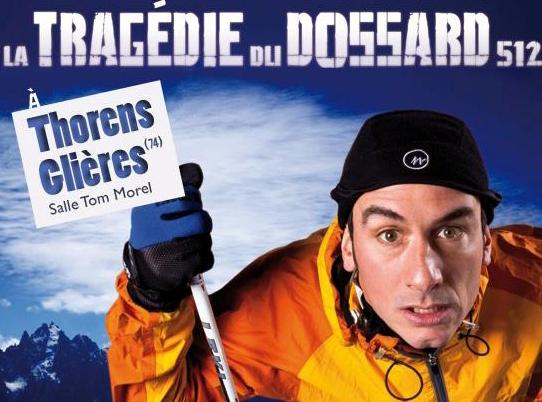 Doc1 12 - Humour : Yohann Métay et la tragédie du dossard 512 à Thorens Glières.