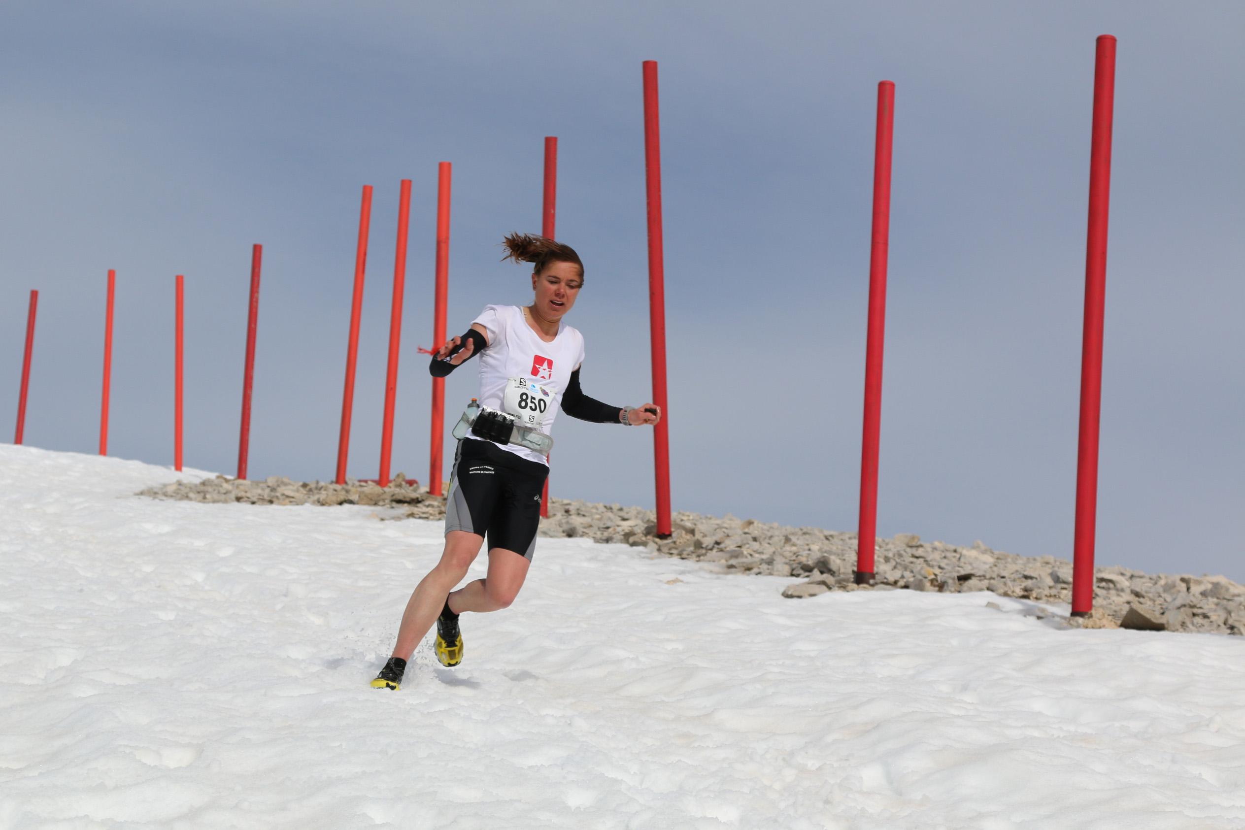 1 Juliette Bénédicto première 472 km IMG 6356 - Résultats du Trail du Ventoux 2014