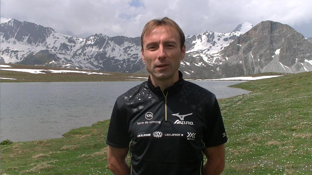 antolinos - Reco Ice Trail Tarentaise: interview de Fabien Antolinos (TDR/MIZUNO)