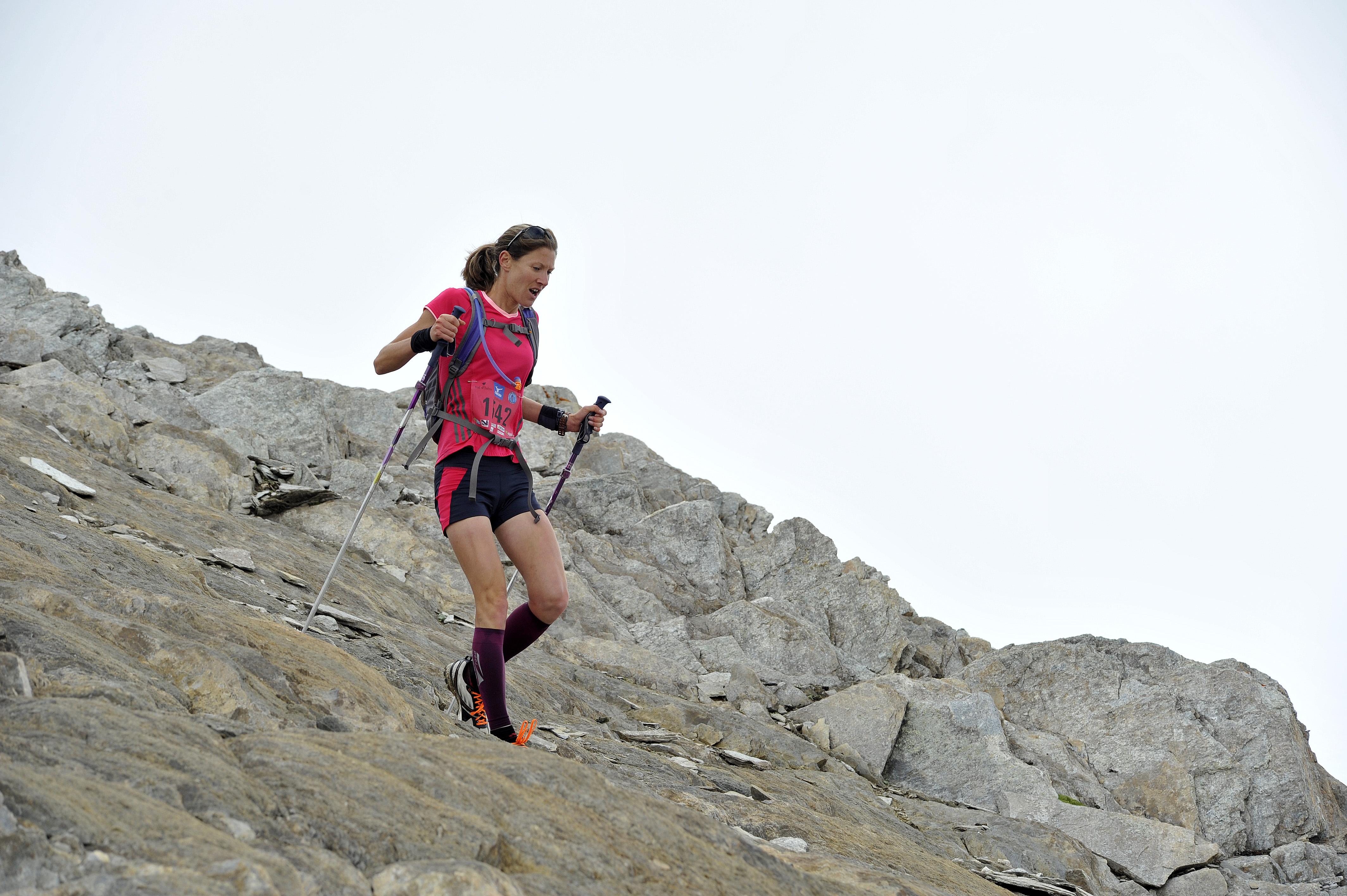 1542 CBU6657 - Christel Dewalle aux championnats du monde de course de montagne en Italie.