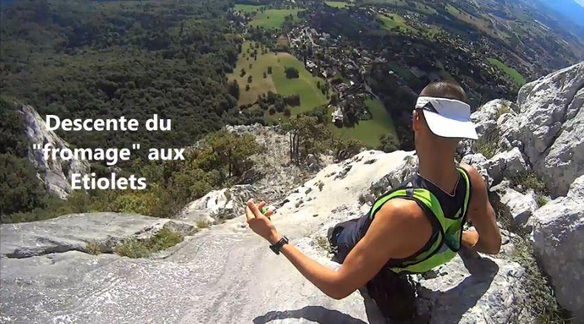 Capture - Découverte de la montagne du Salève par les sentiers balcons techniques et aériens -vidéo-