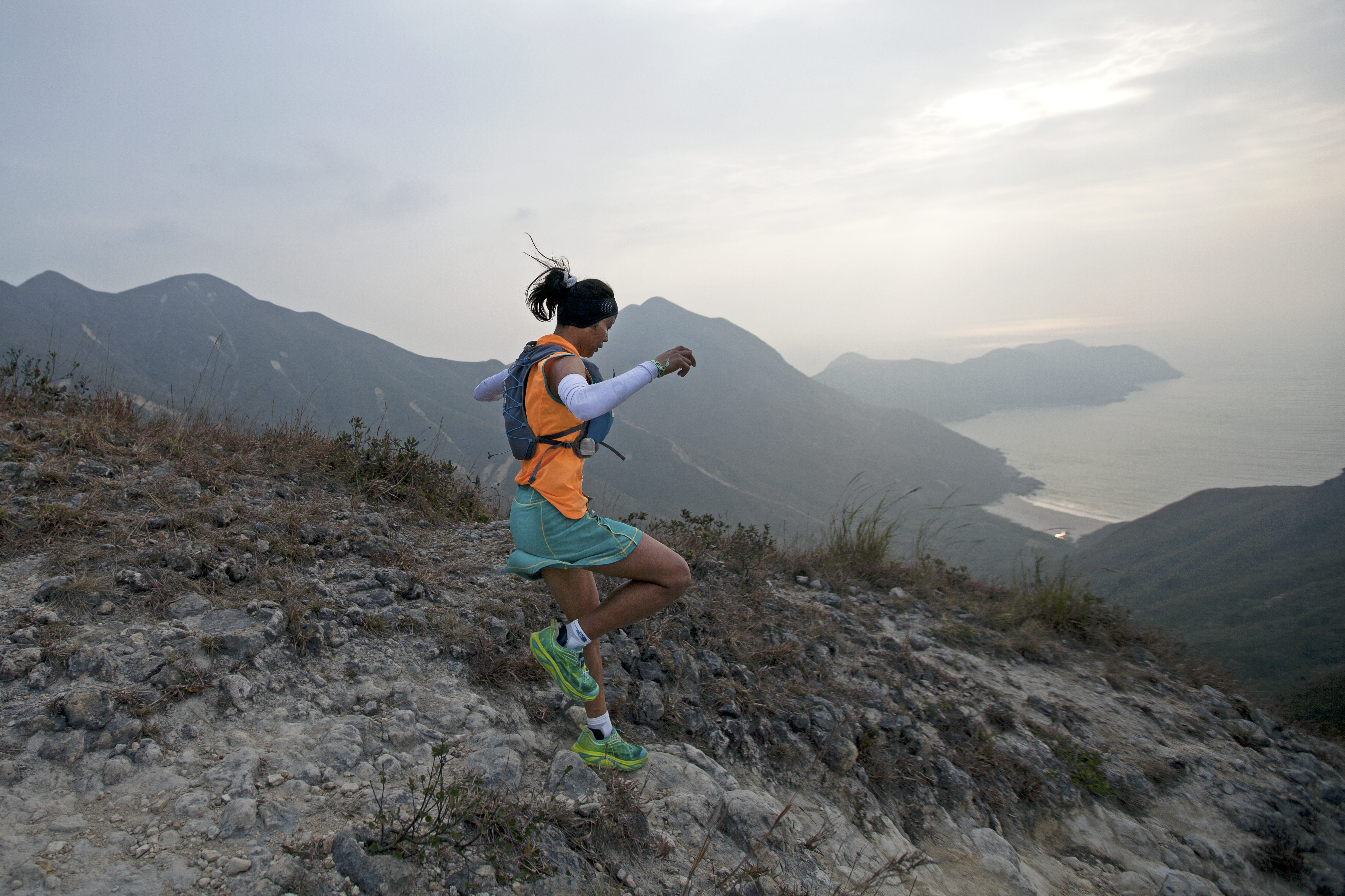 AAE Sai Kung Media Mira Rai IMG 5910 PS Photo Credit Lloyd Belcher - Championnats d'Asie de skyrunning: vers de nouveaux horizons