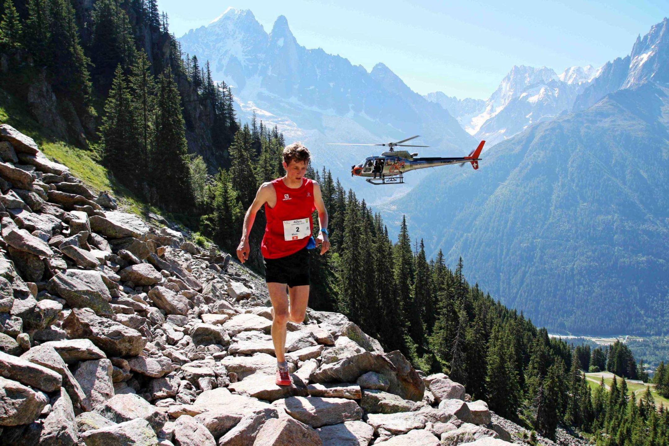 1 Marc Lauenstein vainqueur 42 km photo Goran Mojicevic Passion Trail - Retour sur le Marathon du Mont-Blanc 2015 et classement provisoire du SKYRUNNER FRANCE SERIES avant la prochaine étape : l'Altispeed