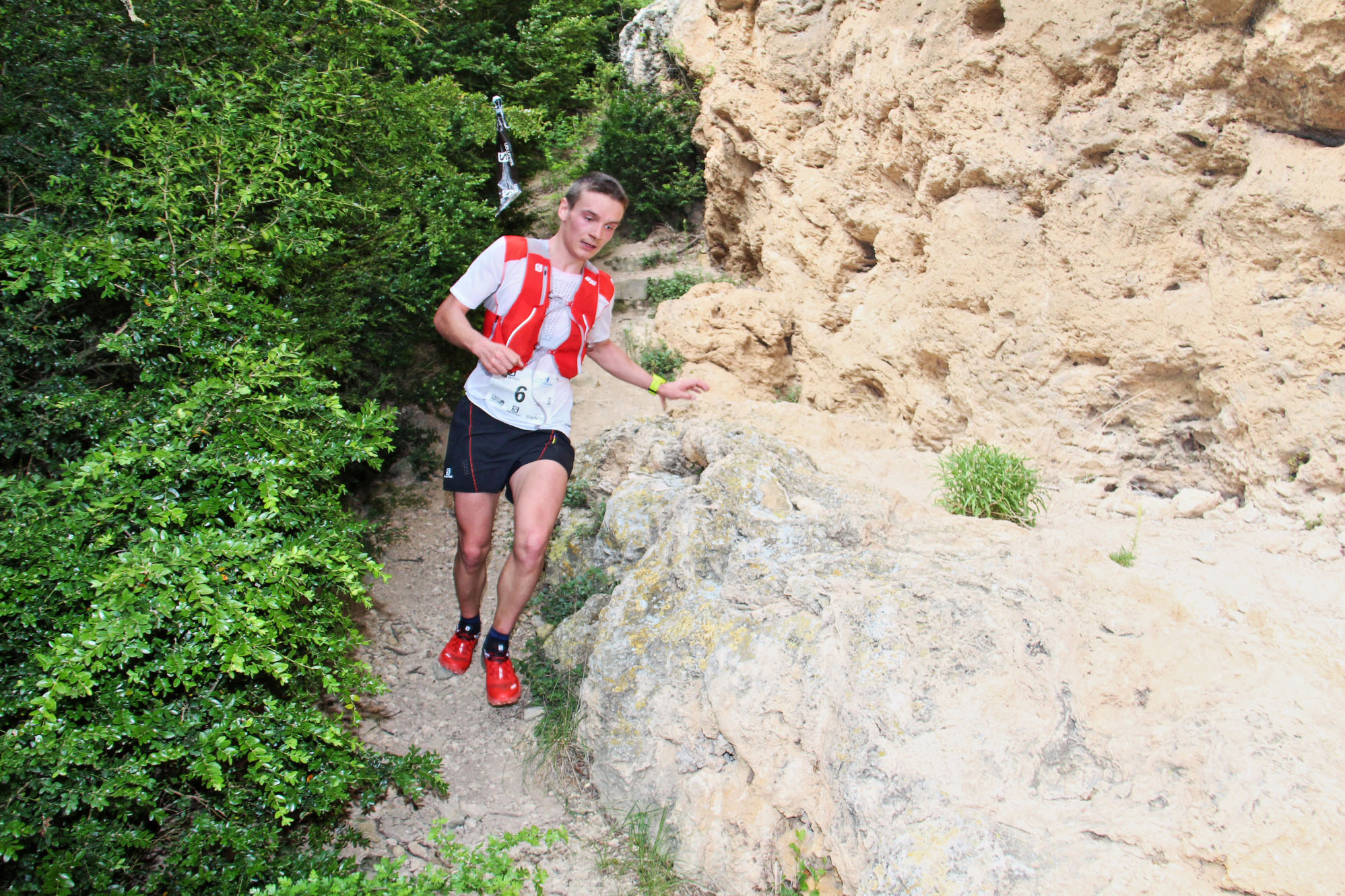 2 Gédéon Pochat photo Goran Mojicevic Passion Trail - SALOMON OVER THE MOUNTAIN RUNNING CHALLENGE : DESTINATION UBAYE ! 07/08/2016