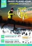 Affiche Trail Blanc des Fiz 2019 VF 106x150 - NOUVEAUTÉ : TRAIL BLANC DES FIZ 1ERE EDITION 16/03/2019
