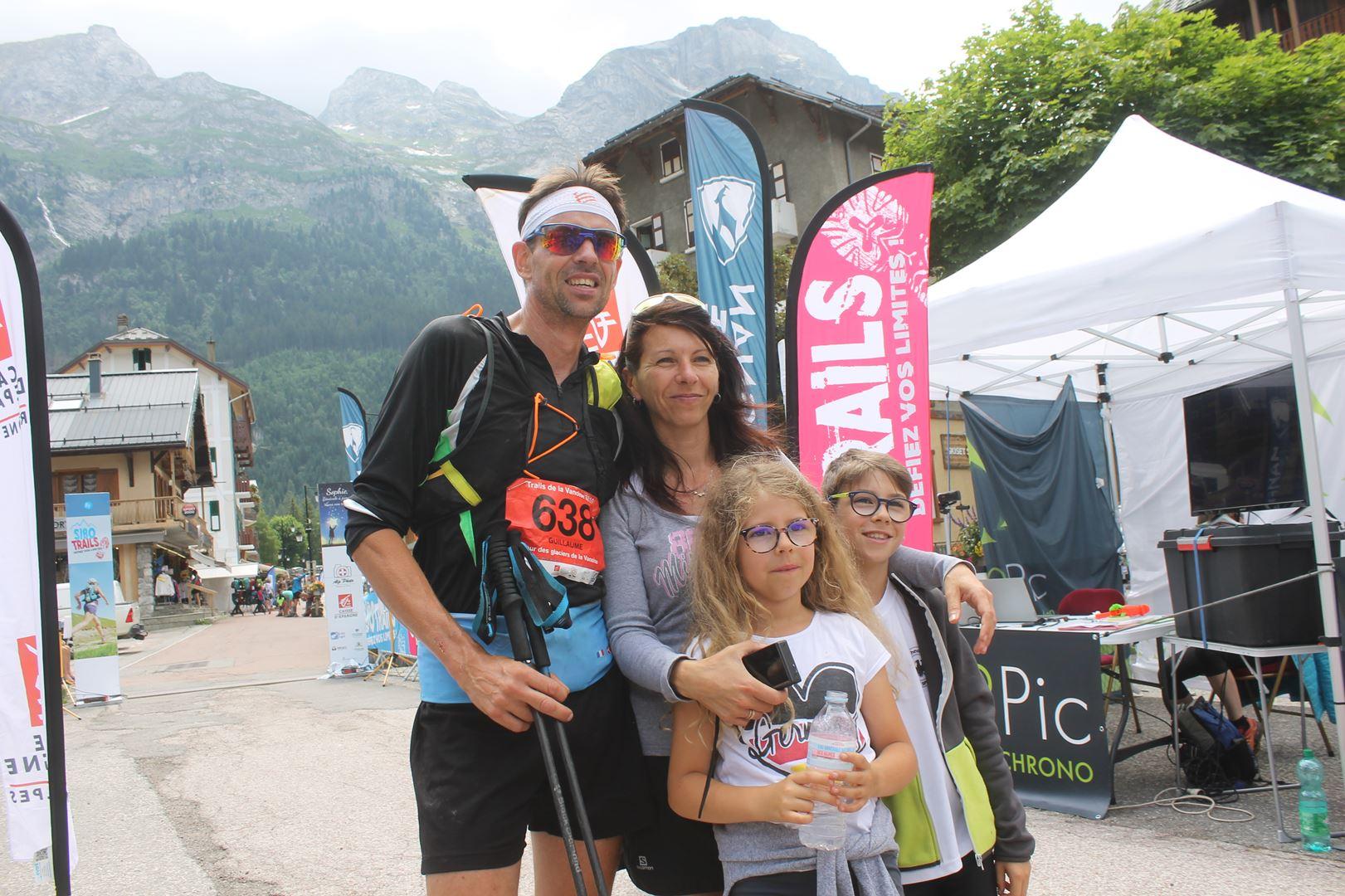 3eme homme du tgv en famille - BENJAMIN DAVID S'IMPOSE SUR LE TOUR DES GLACIERS DE LA VANOISE !  PRALOGNAN 07/07/2019