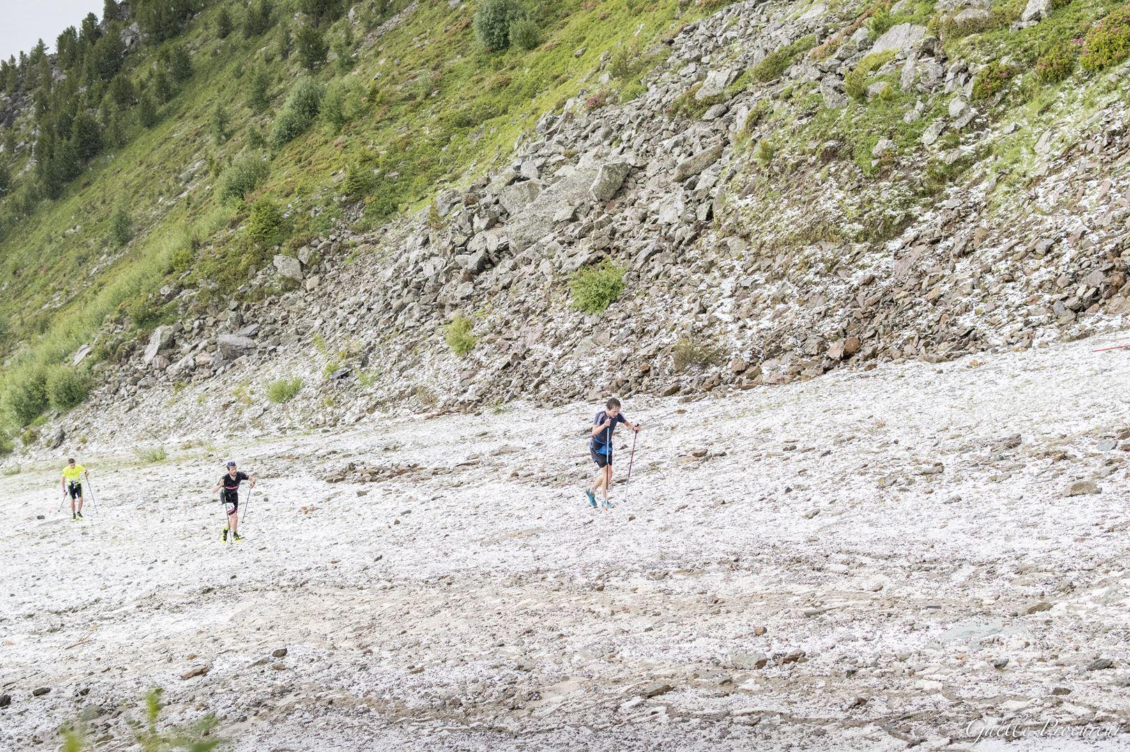 K2 Arcs 2019 9 - Trail Vertical K2 Villaroger : l'orage, la grêle et le spectacle au rendez-vous !