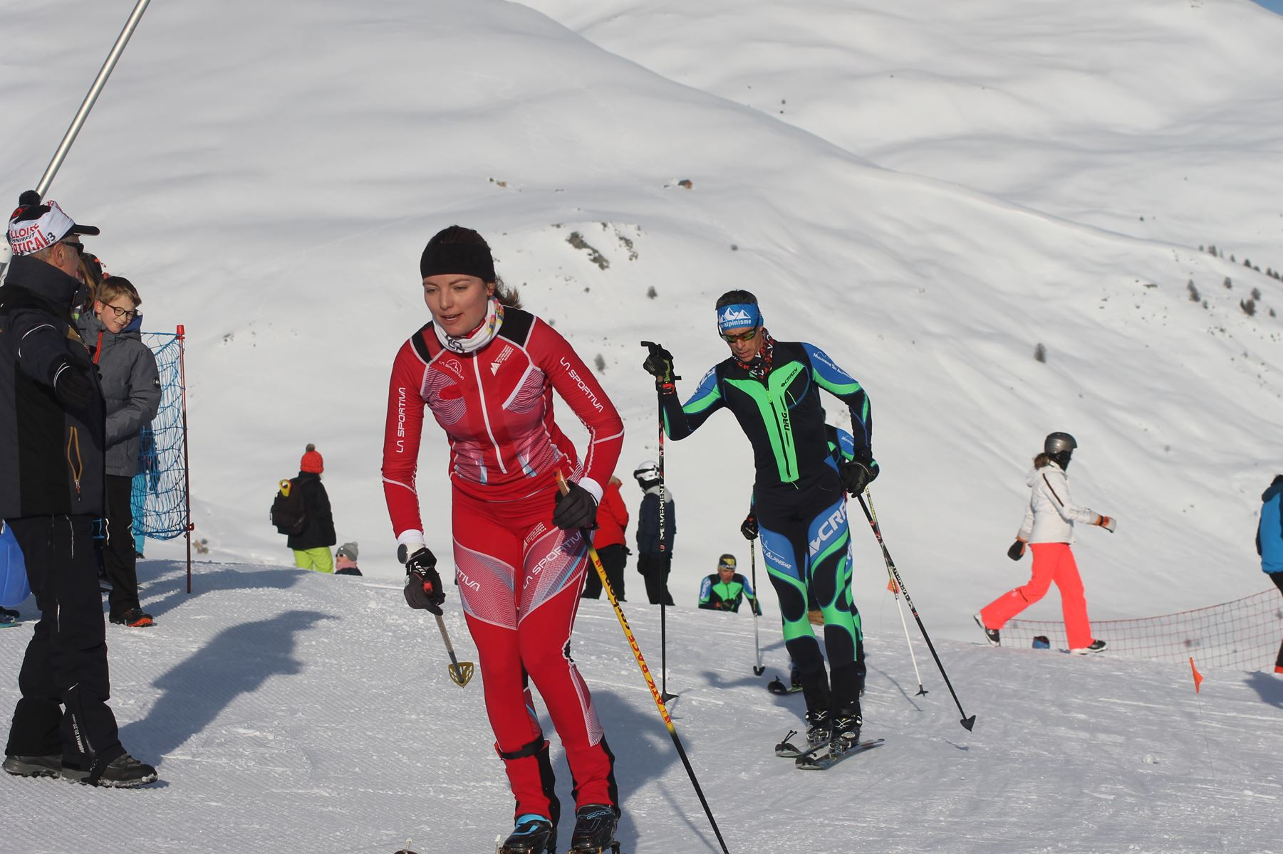 Candice Bonnel 2eme femme - Résultats de la 3ème édition du Valloire Dynafit Vertical (ski alpi) 04/01/2020