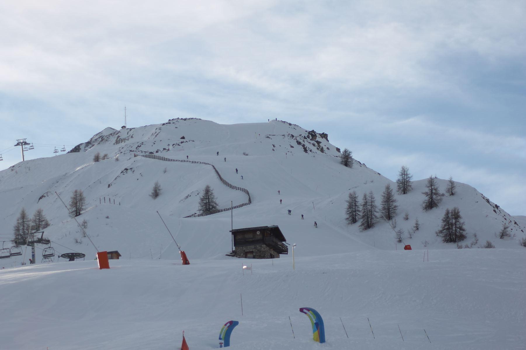 Fin de course au sommet - Résultats de la 3ème édition du Valloire Dynafit Vertical (ski alpi) 04/01/2020