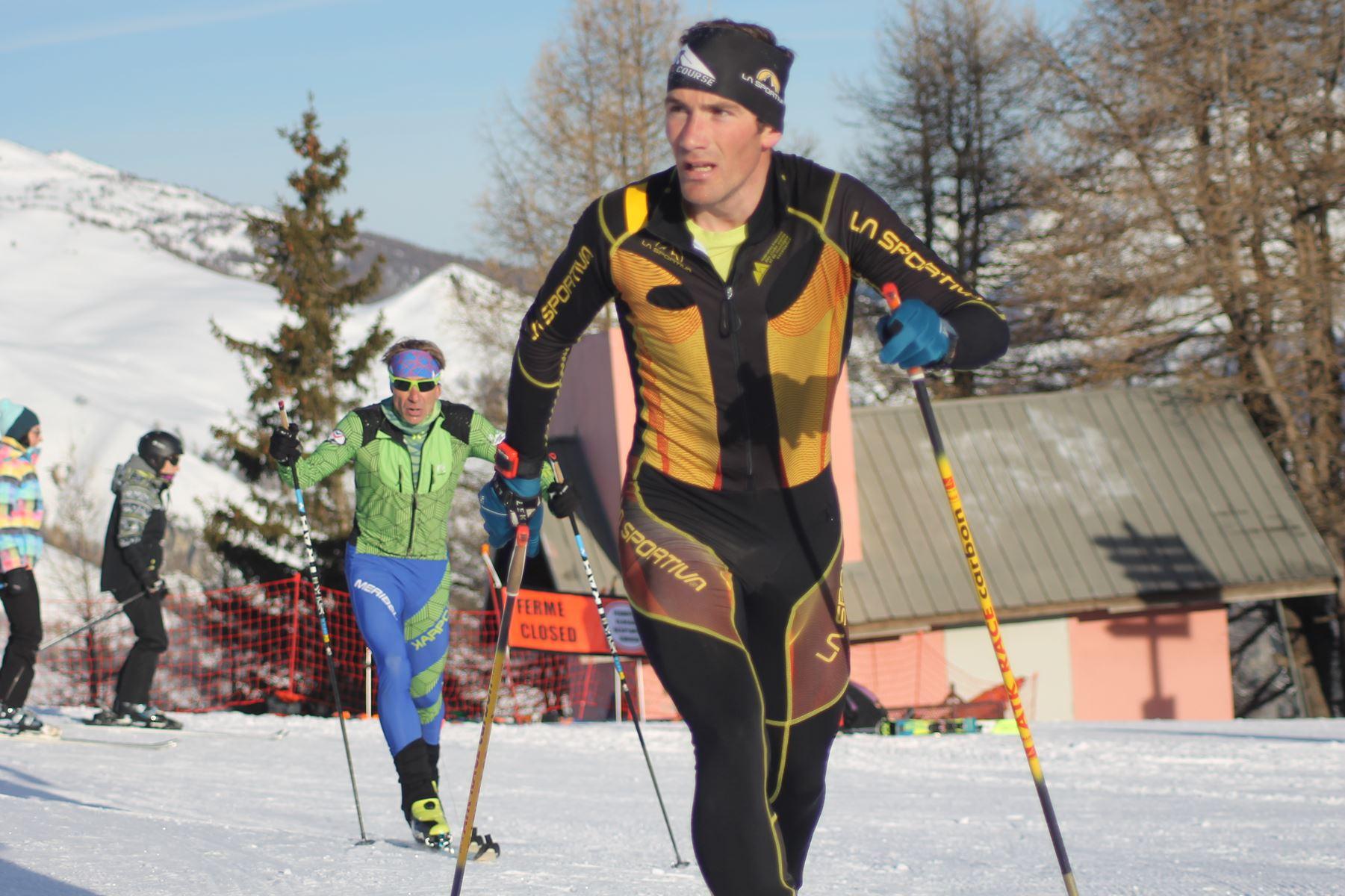 Florian Sautel 2ème 1 - Résultats de la 3ème édition du Valloire Dynafit Vertical (ski alpi) 04/01/2020