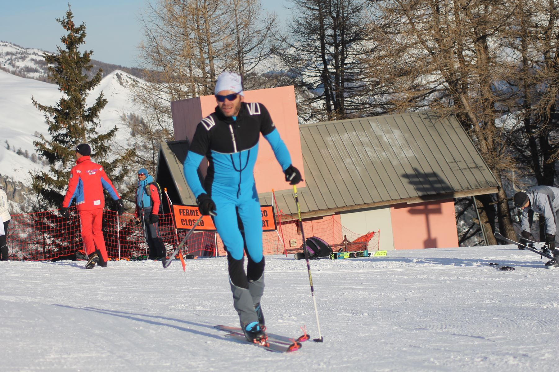 Ludo Pommeret 8eme - Résultats de la 3ème édition du Valloire Dynafit Vertical (ski alpi) 04/01/2020