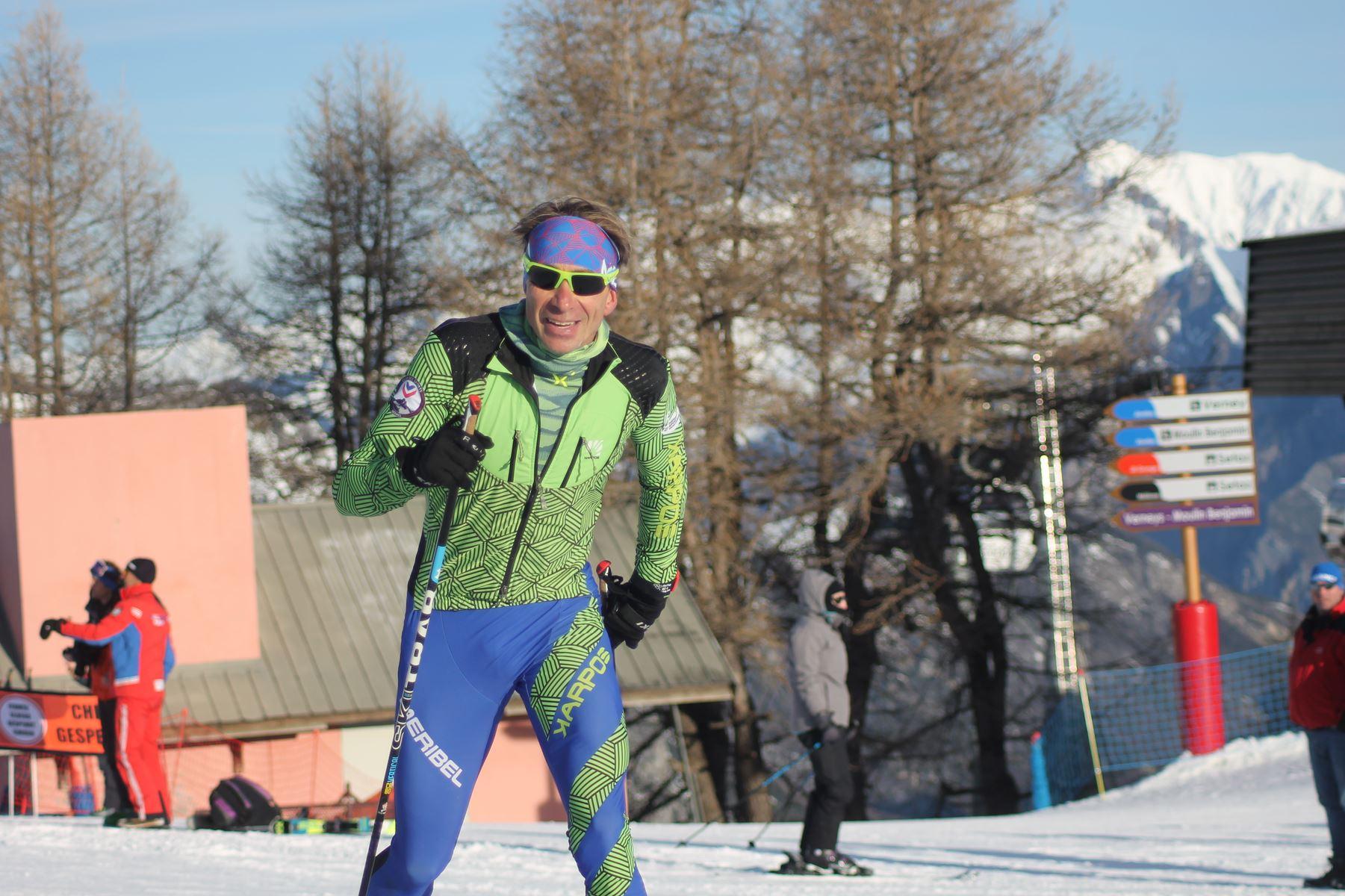 Yoann Caillot 3ème - Résultats de la 3ème édition du Valloire Dynafit Vertical (ski alpi) 04/01/2020