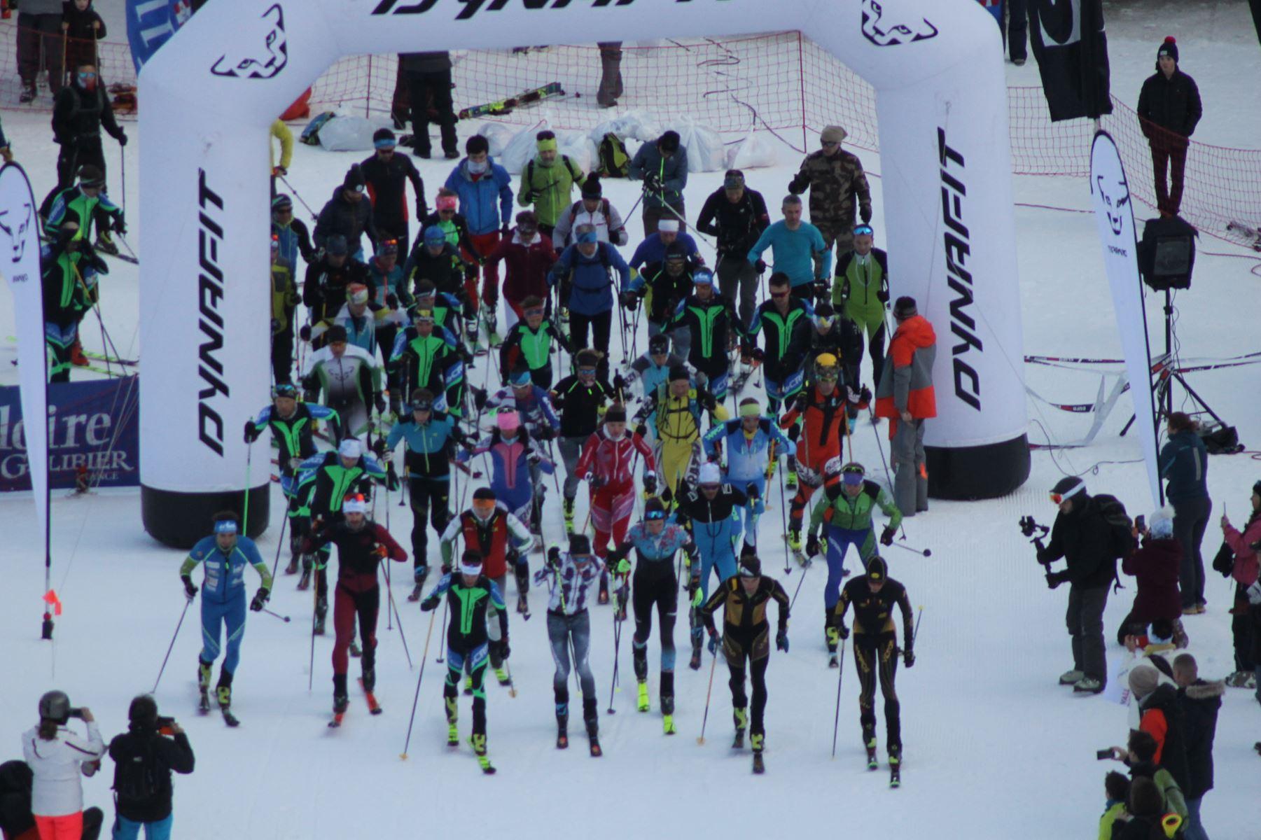 départ Dynafit Valloire - Résultats de la 3ème édition du Valloire Dynafit Vertical (ski alpi) 04/01/2020
