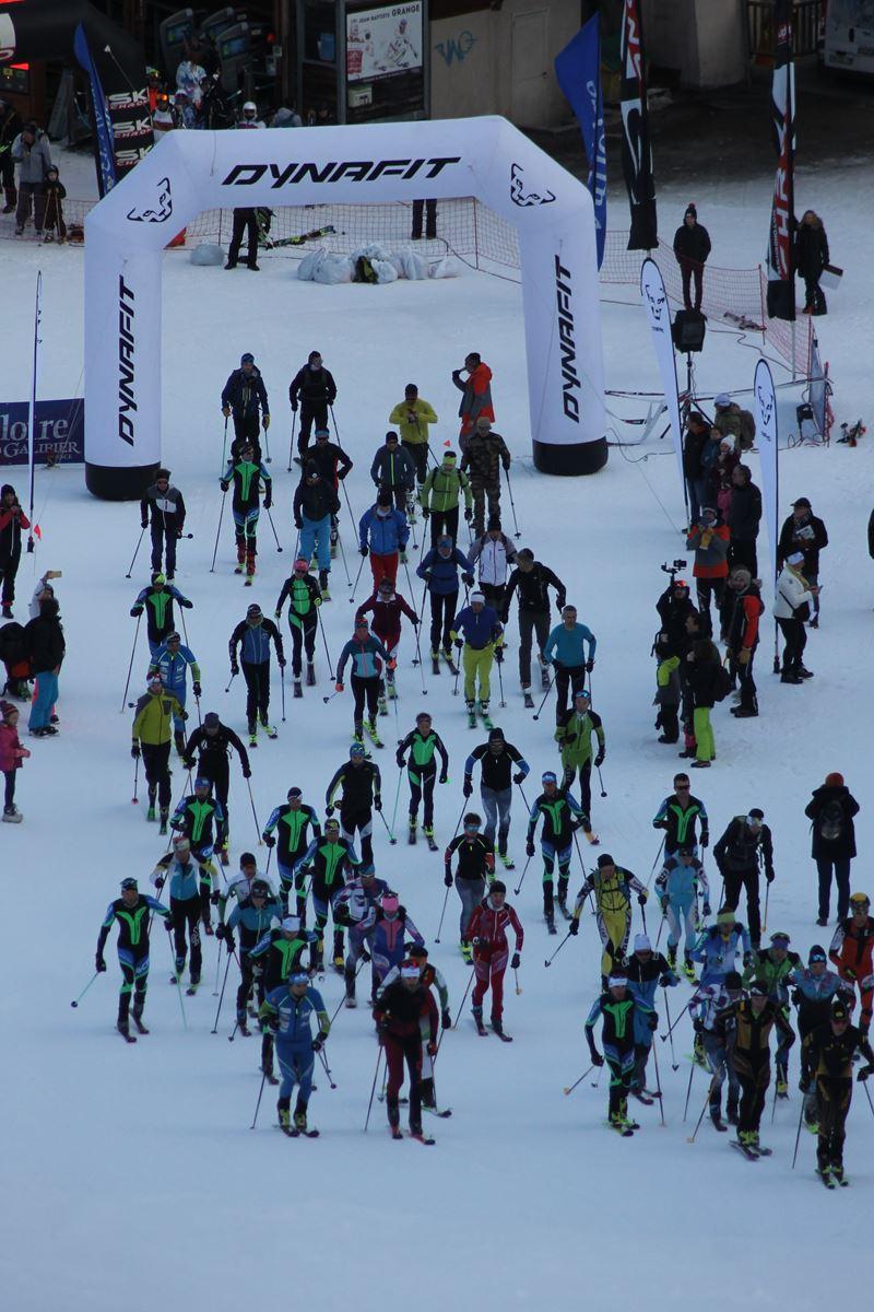 départ dynafit 2 - Résultats de la 3ème édition du Valloire Dynafit Vertical (ski alpi) 04/01/2020