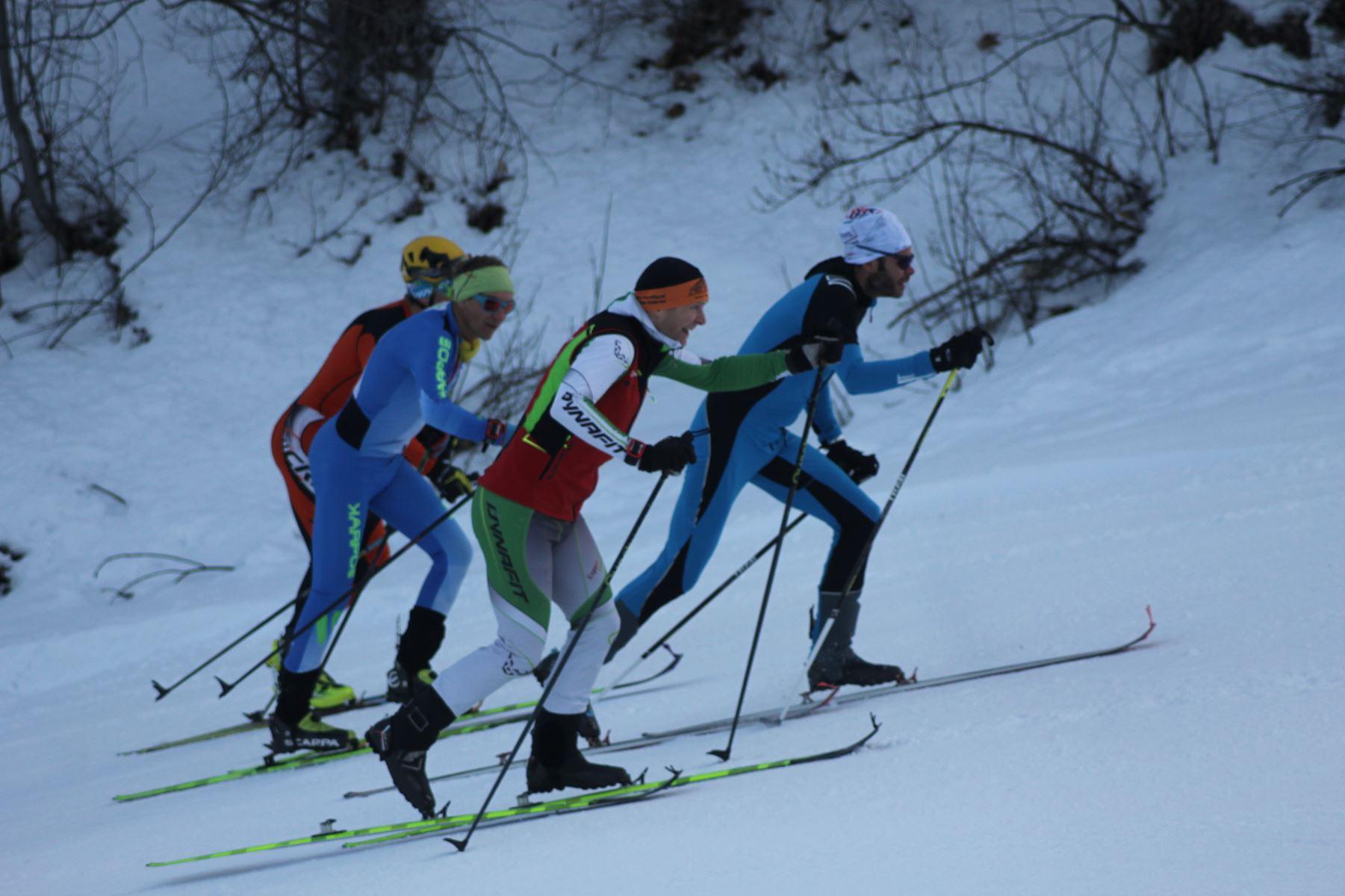 groupe avec Ludo Pommeret - Résultats de la 3ème édition du Valloire Dynafit Vertical (ski alpi) 04/01/2020