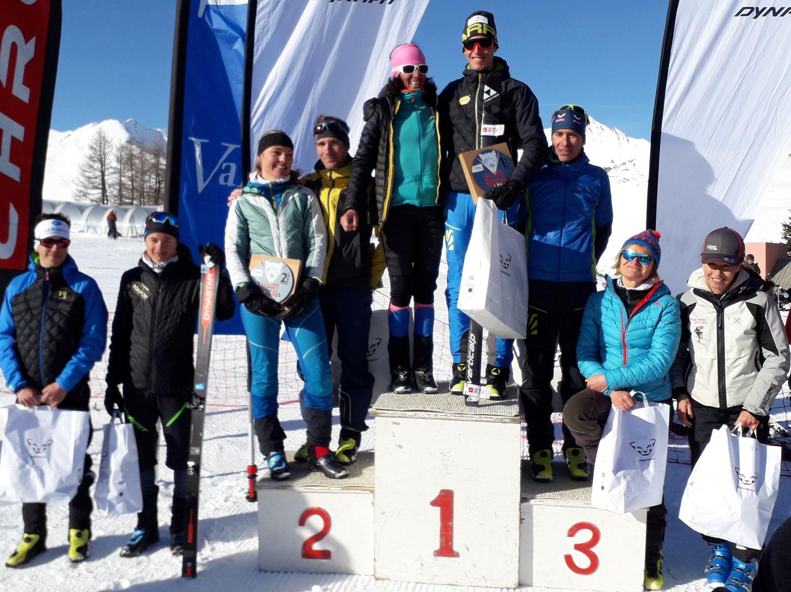 podium général Valloire Dynafit Vertical - Résultats de la 3ème édition du Valloire Dynafit Vertical (ski alpi) 04/01/2020