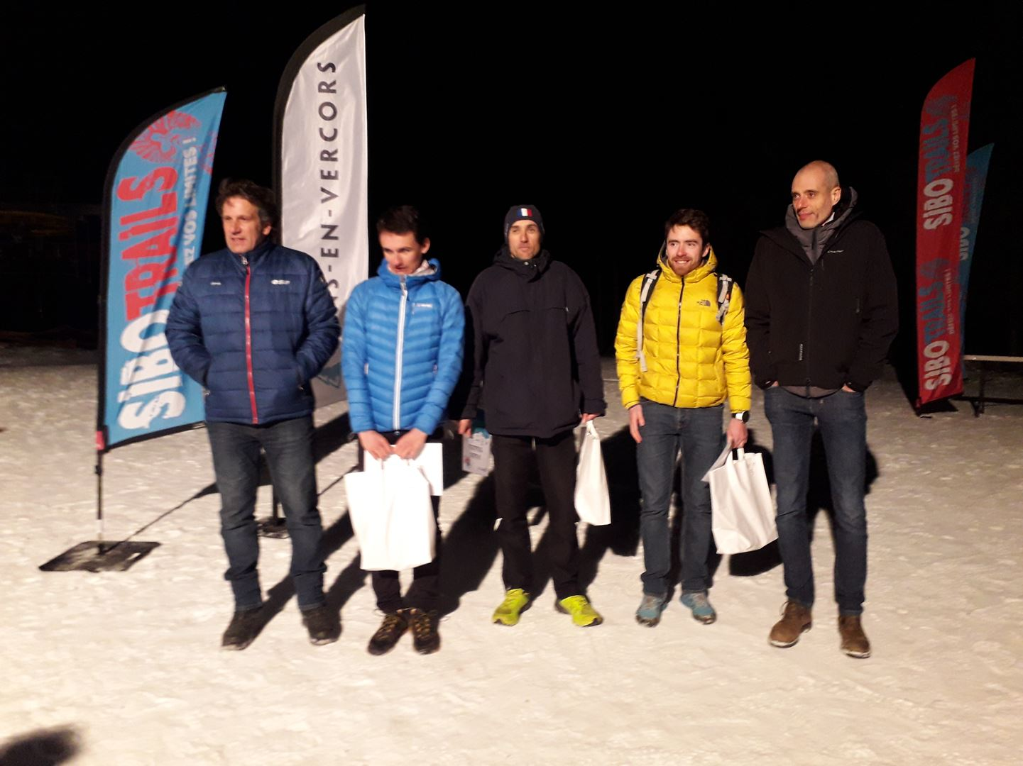 podium hommes 8km - RESULTATS ET PHOTOS DU WINTER SIBOTRAIL LANS EN VERCORS (07/03/2020)